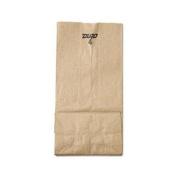 4# Paper Bag, 30lb Kraft, Brown, 5 x 3 1/3 x 9 3/4, 500/Pack