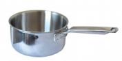"Samuel Groves 1817 6"" Stainless Steel Triply Saucepan No Lid. 152mm dia"