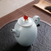 Teapot kettle Ceramic hand carving production 250ML Suitable for tea and coffee Enjoy oriental beauty Thick and delicate packaging Safe delivery
