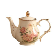 Teapot kettle Ceramic hand carving production 950ML Suitable for tea and coffee Enjoy oriental beauty Thick and delicate packaging Safe delivery