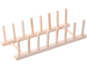 kitchen Creative Solid wood dishes frame Drain shelf Storage Shelf