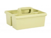 Plastic Handy Kitchen Cleaning Tool Box Utility Caddy Storage Tidy Organiser Tote Tray Large Strong Cleaners Carry Tray Basket Boxes