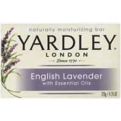6 Pk Yardley London English Lavender Naturally Moisturising Bath Bar 130ml Each