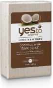 Yes to Coconut Hydrate & Restore Coconut Milk Bar Soap 210ml