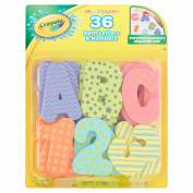 Crayola Bright Colours Bath Letters & Numbers Age 3+, 36 count