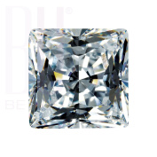 Be You White Cubic Zirconia AAA Quality 2x2 mm Princess Cut Square Shape 100 pcs loose gemstone