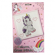 Magical Misty Unicorn - Cross Stitch Art and Craft Pack