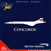 Gemini Jets British Airways Concorde G-Boaf 1:400 Scale Diecast Model Aeroplane.