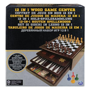 Wooden 12-in-1 Game Centre