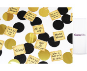 1 x Coco & Bo - Harry Potter Quotes Table Confetti - Magical Wizarding Theme Party Decorations / Accessories