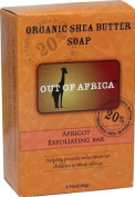Out Of Africa - Pure Shea Butter Bar Soap Exfoliating Apricot - 120ml
