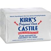 KIRKS NATURAL Original Coco Castile Soap, 3 Count