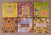 Greenwich Bay Shea Butter Luxury Spa Soap, 60ml - Set of 6 Different Scents!