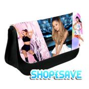 SHOP£SAVE Ariana Grande Pencil Case Or Make-Up Bag Black