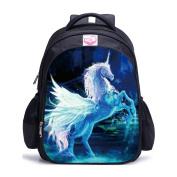 Runhome Unicorn Student School Backpacks, Boy and Girl Fashion Unicorn Gifts Rainbow Bags, Unicorn Printed Rucksacks Funny Travel Luggage Casual Daypacks