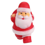 wuayi Stress Relief 13cm Simulation Kids Toy Exquisite Santa Claus Scented Squishy Charm Slow Rising