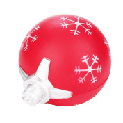 wuayi 9cm Squeeze Toys Christmas Ball Cream Scented Squishy Slow Rising Phone Charm