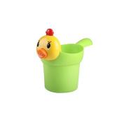 Skyoo Children Baby Chick Shampoo Cups Water Spoon Water Acoop Baby Soft Plastic Shower Bathroom Bathing Toys