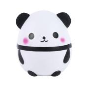 Panda Squishies, Pawaca Slow Rising Squeezing Cake Toy Kawaii Cute Jumbo Squishy Panda Egg Kids Toy for Stress Relief or Decorative Props