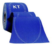 KT TAPE PRO Synthetic Elastic Kinesiology 20 Pre Cut Strips Therapeutic Tape,Blue