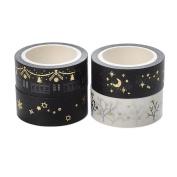 4Pcs Washi Tape Masking Tape Adhesive Scrapbooking DIY Craft Decor Tape