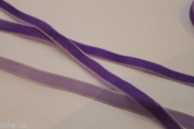 10mm Velvet Ribbon, PURPLE 13 colours available MHA UK BRANDED
