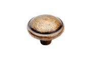 Round Drawer Pull Knob Handle. Vintage furniture handle / Retro furniture handle 18-E9347008