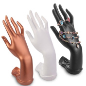 Muse's Eyes Male Mannequin Hand Jewellery Bracelet Ring Gloves Watch Necklace Display Wrist Stand Holder Manikin Model