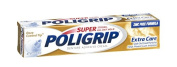 4 Pack - PoliGrip Super, Denture Adhesive Cream, Extra Care - 70ml Each