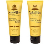 The Naked Bee Nag Champa Hand & Body Lotion, 2 x 70ml - TWO PACK