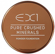 EX1 Cosmetics Pure Crushed Mineral Powder Foundation, Number 1.0