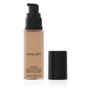 Inglot Amc Cream Foundation NF Gentle Waterproof Cover Cream that covers the skin to naturally – For All Skin Types