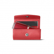 Lucrin - Lipstick Holder - Pink - Goat Leather