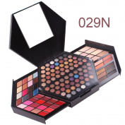ROMANTICBEAR Professional Ultimate Eyeshadow Eye Shadow Palette Cosmetic Makeup Kit Set Highlighter Powder Lipstick Plate Concealer Blush Make up Professional Box