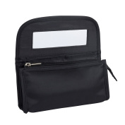 Glamour Spa Cosmetic Bag with Flap and Mirror