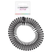 Leo Bancroft Expandable Headband Black
