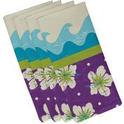 E by design Floral Print Napkin