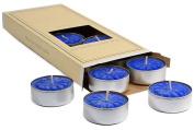Blueberry Cobbler Tea Lights 10 candles per box 3.8cm . diameter x .160cm . tall