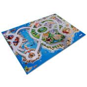 casa pura® Interconnectable Childrens Play Mat - 100x150cm   4 Designs Available - Seaside Design