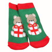 dragonaur Children Baby Boy Girl Christmas Themed Santa Claus Elk Snowflake Socks