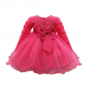 HUHU833 Flower Baby Girl Princess Pageant Gown Birthday Party Dress