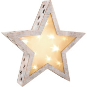 Shabby Chic Star Lantern, large