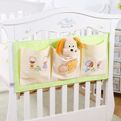 Baby Cot Tidy Organiser,Feicuan Baby Bed Pouch Hanging Storage Nappies Toys Cots Crib Organiser