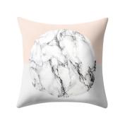 Fixuk Geometric Pattern Throw Pillow Case Home Decor Square Sofa Waist Cushion Cover