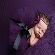 ZHJZ Newborn Baby Dresses Pompon Skirt for Photograph Props