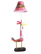 FUFU Floor Lamp power switch button Cartoon Cloth floor lamp Children's room Warmth bedroom Floor lamp Bulb Included