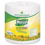 100% Premium Recycled 2-Ply Embossed Toilet Tissue, 48 Rolls/Carton