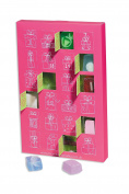 Advent Calendar Christmas Advent Calendar Christmas Bomb Cosmetics Pink Bath Balls Soap