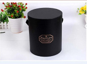 JDCMYK 3PCS/set good quanlity flowers box round box ,cardboard boxes gift packing, 2017 hot sell gift box. six colour choose.