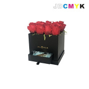 JDCMYK Party Flowers gift box square drawer flower box chocolate /candy box